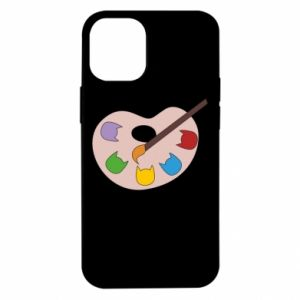 Etui na iPhone 12 Mini Color palette with cats
