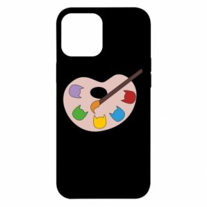 Etui na iPhone 12 Pro Max Color palette with cats