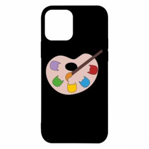 Etui na iPhone 12/12 Pro Color palette with cats