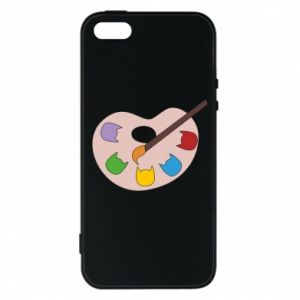Etui na iPhone 5/5S/SE Color palette with cats