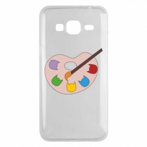 Etui na Samsung J3 2016 Color palette with cats