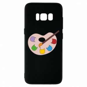 Etui na Samsung S8 Color palette with cats