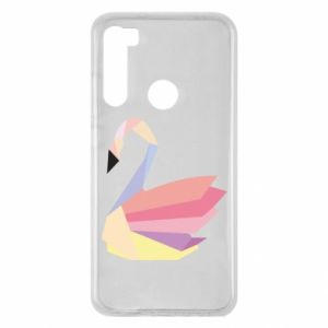 Etui na Xiaomi Redmi Note 8 Color swan abstraction