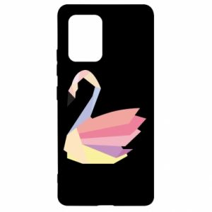 Etui na Samsung S10 Lite Color swan abstraction