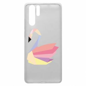 Etui na Huawei P30 Pro Color swan abstraction
