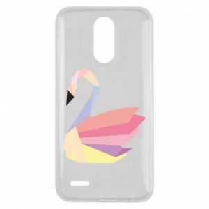 Etui na Lg K10 2017 Color swan abstraction