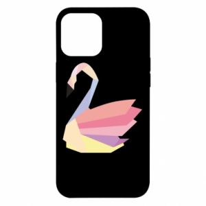 Etui na iPhone 12 Pro Max Color swan abstraction