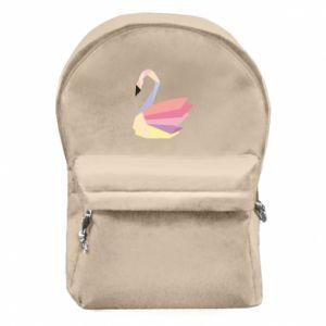 Plecak z przednią kieszenią Color swan abstraction