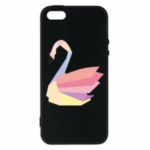 Etui na iPhone 5/5S/SE Color swan abstraction