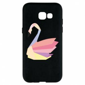 Etui na Samsung A5 2017 Color swan abstraction