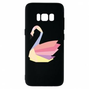 Etui na Samsung S8 Color swan abstraction