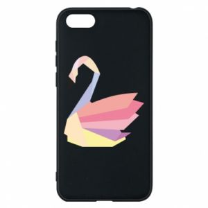 Etui na Huawei Y5 2018 Color swan abstraction
