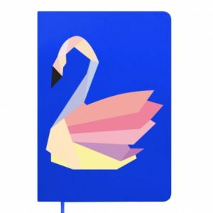 Notes Color swan abstraction