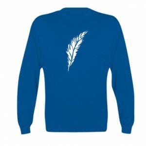 Bluza dziecięca Colored feather