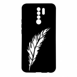 Etui na Xiaomi Redmi 9 Colored feather
