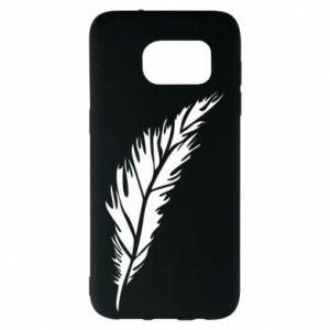 Etui na Samsung S7 EDGE Colored feather