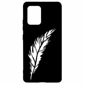 Etui na Samsung S10 Lite Colored feather