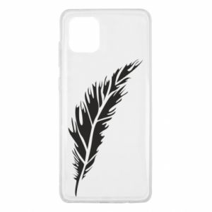Etui na Samsung Note 10 Lite Colored feather