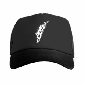 Czapka trucker Colored feather
