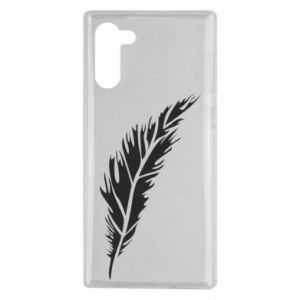 Etui na Samsung Note 10 Colored feather