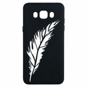 Etui na Samsung J7 2016 Colored feather