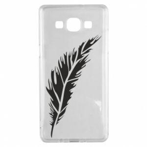 Etui na Samsung A5 2015 Colored feather