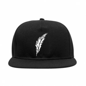 Snapback Colored feather