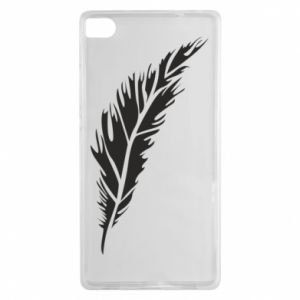 Etui na Huawei P8 Colored feather