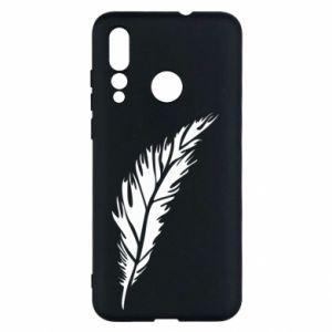 Etui na Huawei Nova 4 Colored feather
