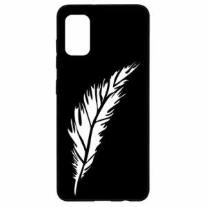 Etui na Samsung A41 Colored feather
