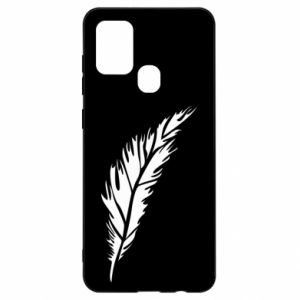 Etui na Samsung A21s Colored feather
