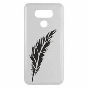 Etui na LG G6 Colored feather