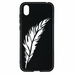 Etui na Huawei Y5 2019 Colored feather