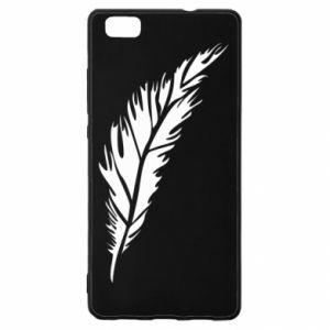 Etui na Huawei P 8 Lite Colored feather