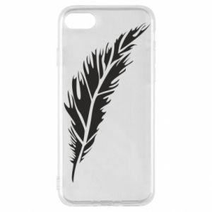 Etui na iPhone SE 2020 Colored feather
