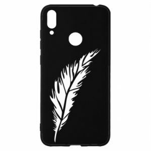 Etui na Huawei Y7 2019 Colored feather