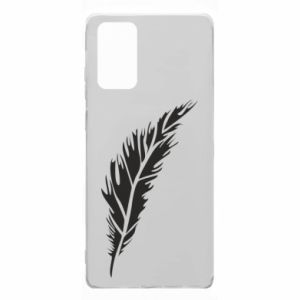 Etui na Samsung Note 20 Colored feather