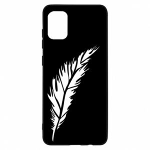 Etui na Samsung A31 Colored feather