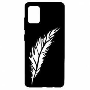 Etui na Samsung A51 Colored feather