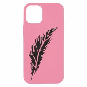 Etui na iPhone 12 Mini Colored feather