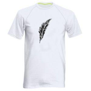 Koszulka sportowa męska Colored feather