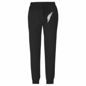 Spodnie lekkie męskie Colored feather