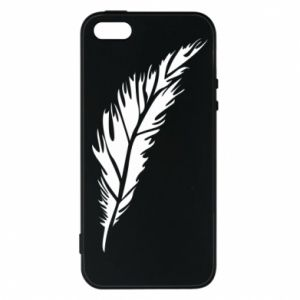 Etui na iPhone 5/5S/SE Colored feather