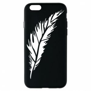 Etui na iPhone 6/6S Colored feather