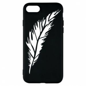 Etui na iPhone 7 Colored feather