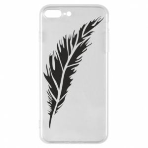 Etui na iPhone 8 Plus Colored feather