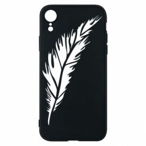 Etui na iPhone XR Colored feather