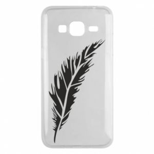 Etui na Samsung J3 2016 Colored feather