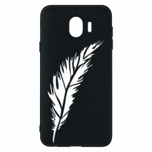Etui na Samsung J4 Colored feather