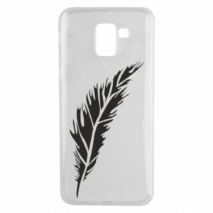 Etui na Samsung J6 Colored feather